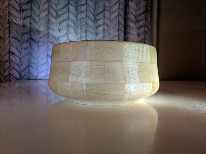 Segmented Bowl Turning