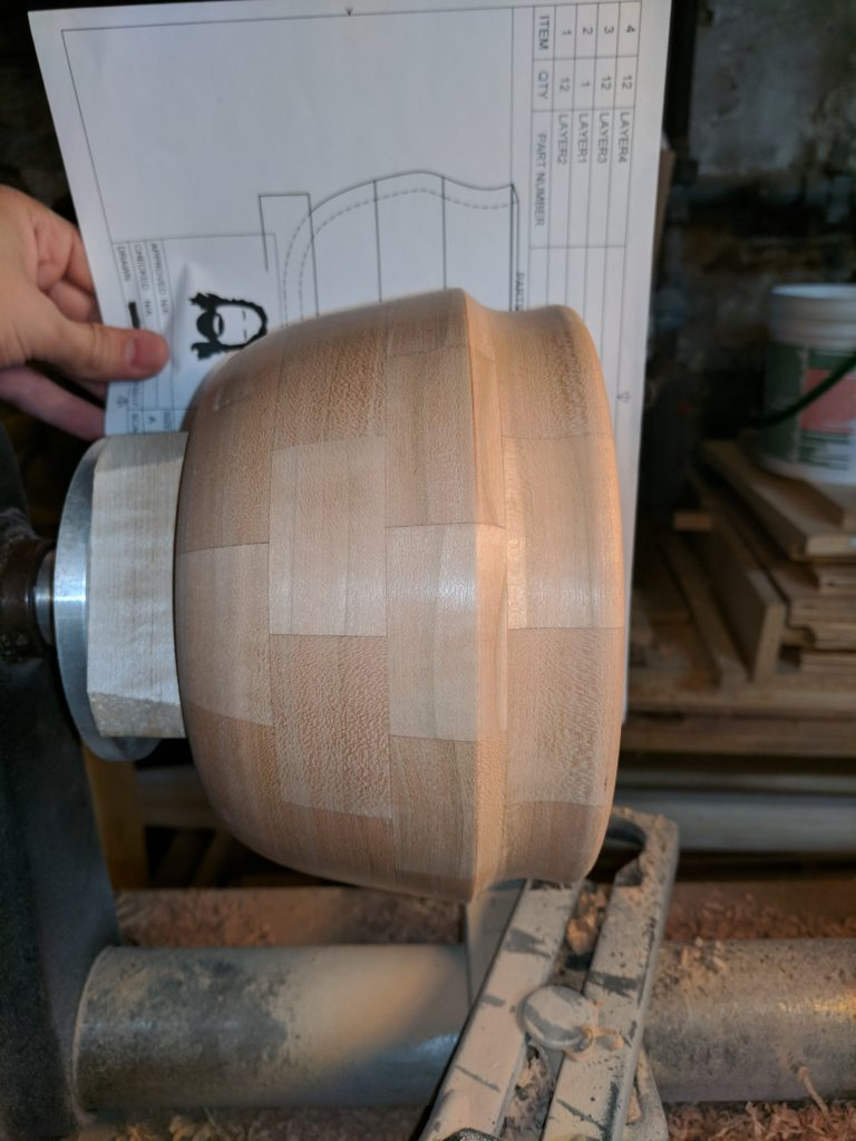Mid turning design change