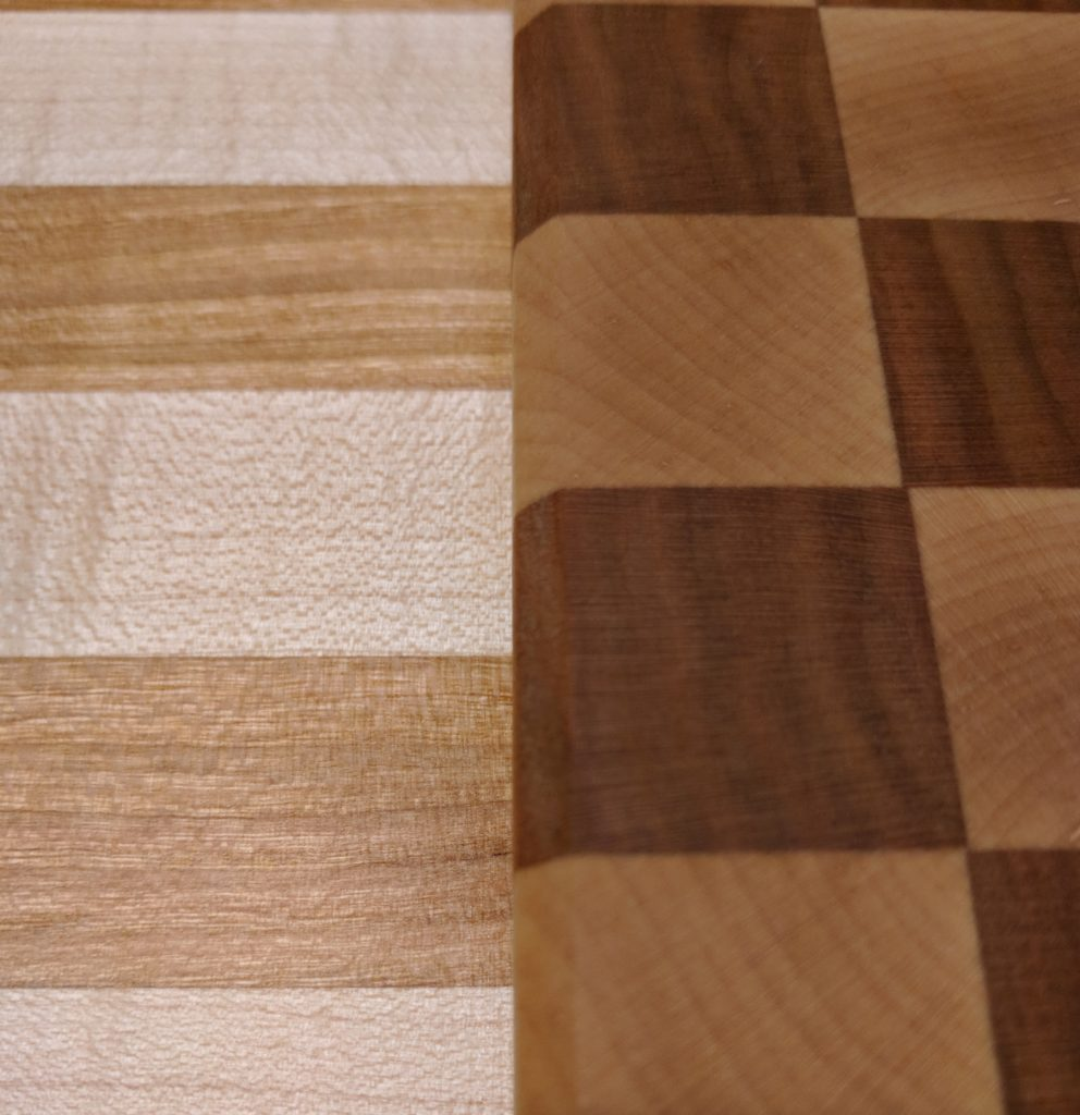 Cherry and Maple, Checks and Stropes