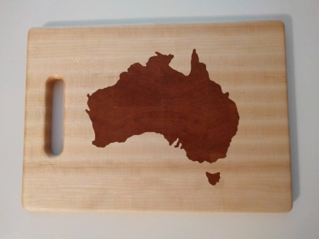 Cherry inlay of Australia