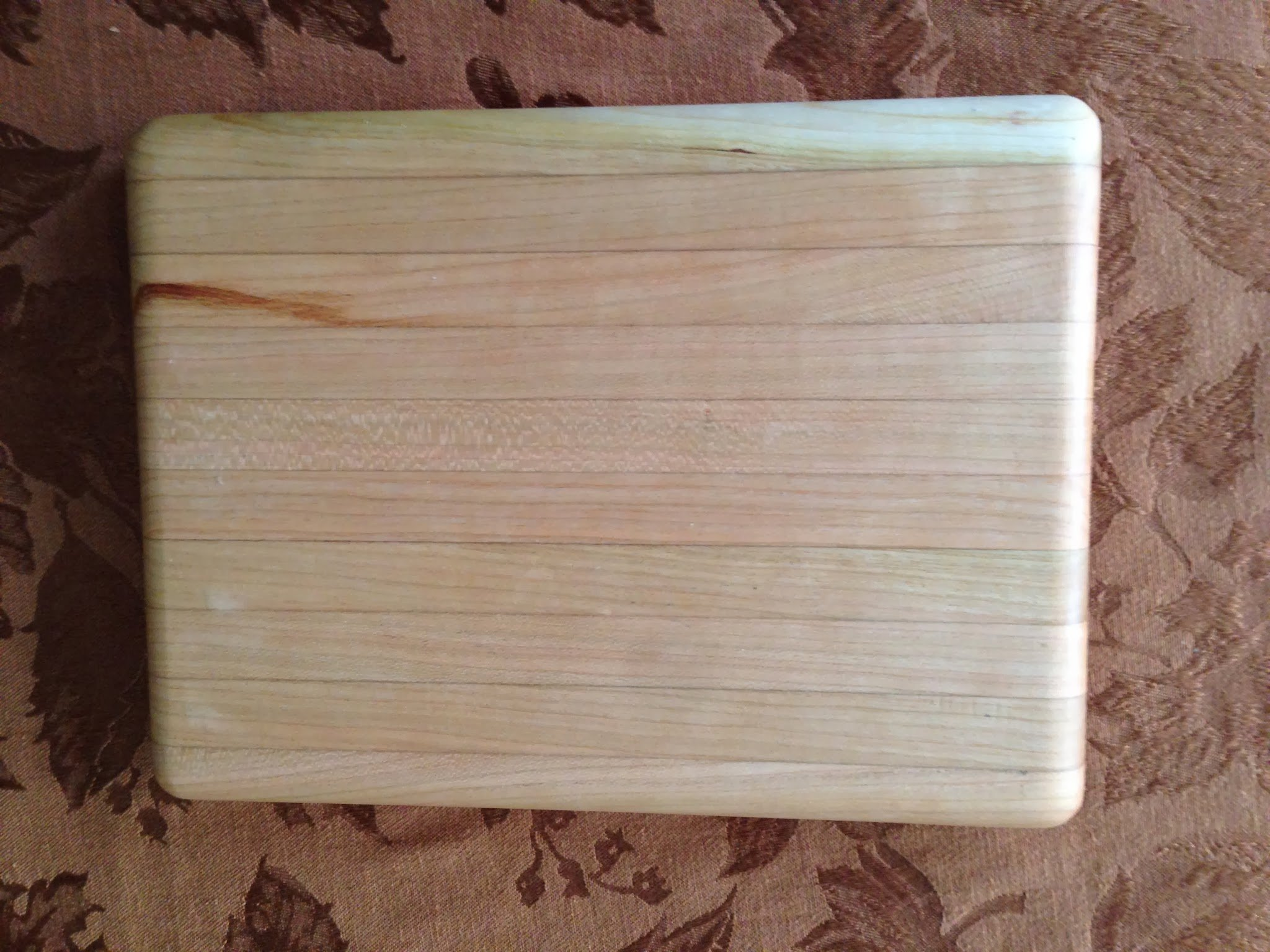 My very first cutting board